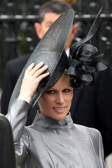 zara phillips hat. Royal Wedding Hats and