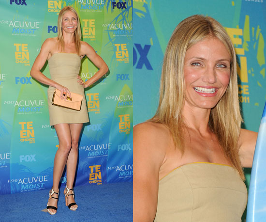 What do you think of Cameron's nude TCA look? Vote on all of our Teen Choice ...